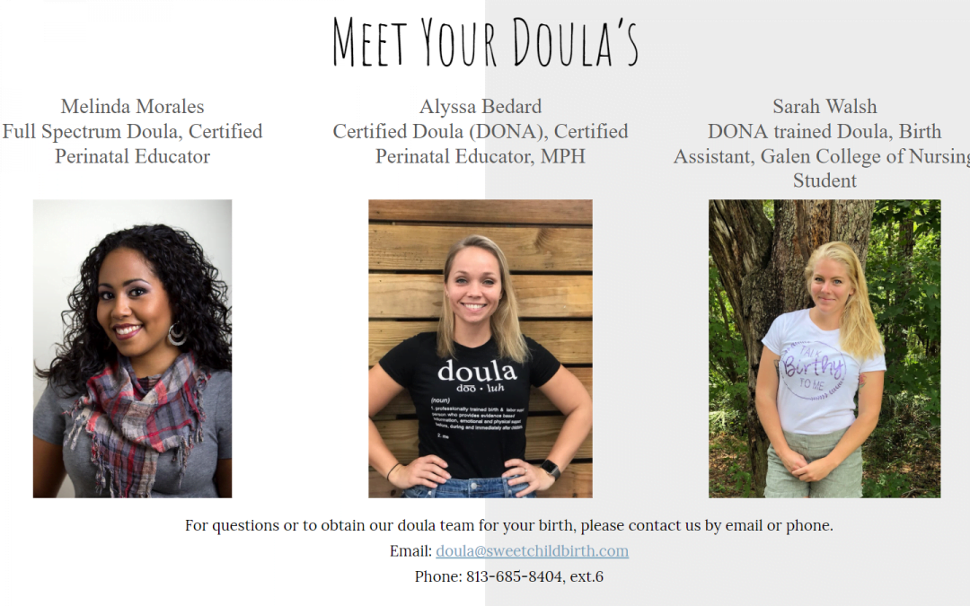 Meet the Doulas April Meeting