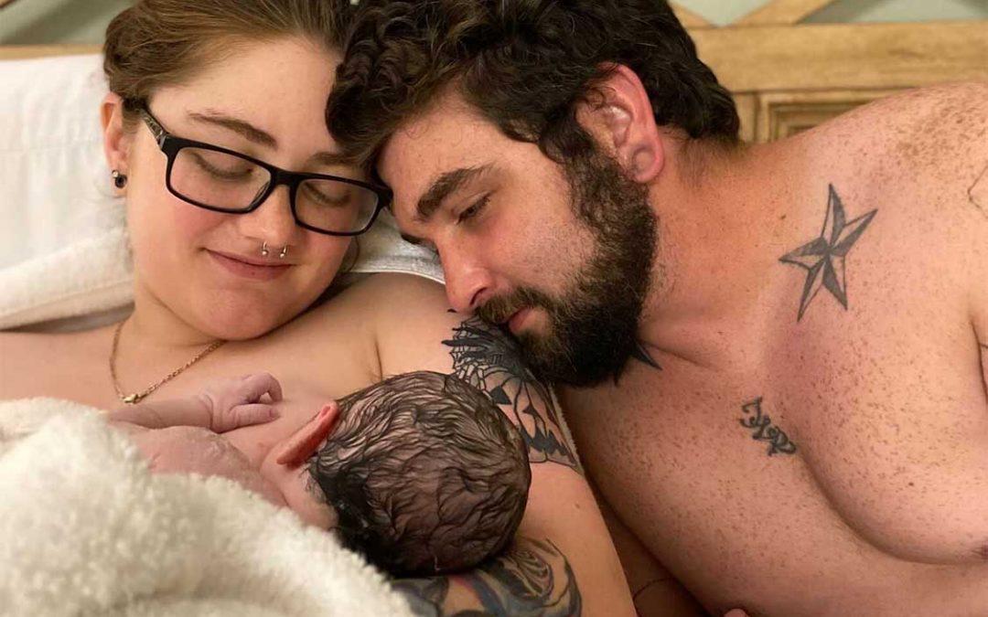 Kitanna & Kyle Welcome Baby Kora July 29, 2020 weighing 6 lb 3 oz