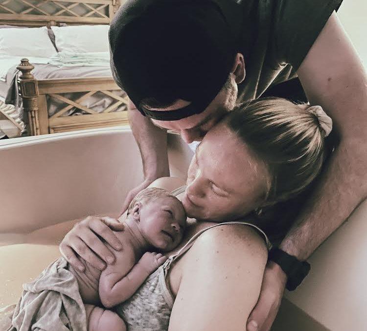 Erin & Hudson Give Birth to Kaelyn, 6 lbs 14 oz